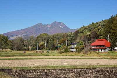 Okubo and Lake Nojiri in the Fall