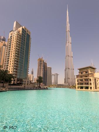 Behind Burj Khalifa