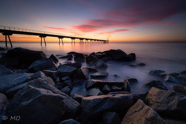 Pont del petroli (Spain, Badalona)