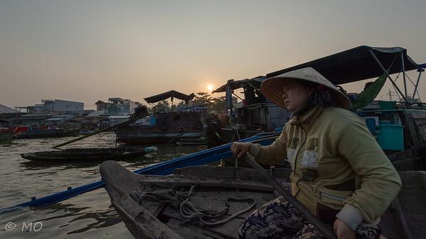 Vietnam : Cai Rang floating market