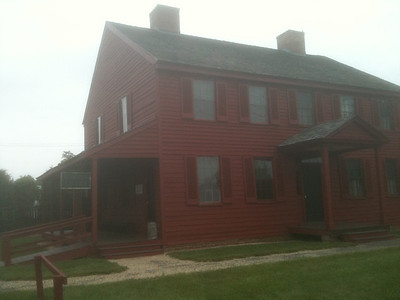 The Surratt Tavern. Booth and accomplice David Herold picked up arms and liquor here on the evening of April 14, 1865.