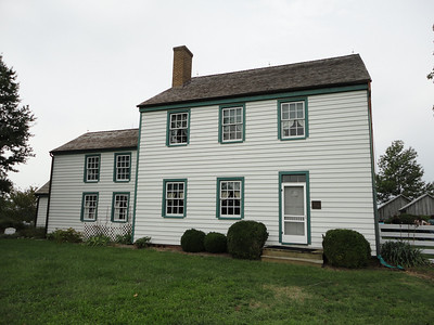 The Dr. Samuel A. Mudd House.  Mudd received a life sentence for conspiring with Booth and aiding him (setting his leg) in his escape.