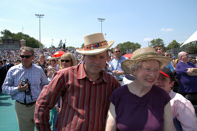 Me and Aunt Eva (and Kyle) at Matthew's graduation, St. Thomas University 2007.....it was hot!!!
