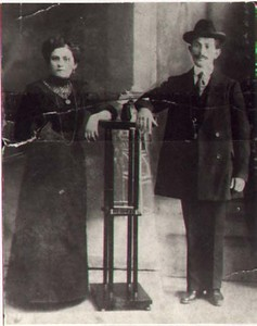 Maternal Grandparents as a young couple, early 1920s?
