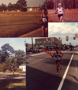 Misc race shots, all early 80s except top right, '97 Prefontaine. Photo credits?