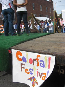 Welcome to the Colorfall Festival!  This year was a revival of the event after a ten-year hiatus, a first effort for the organizers.