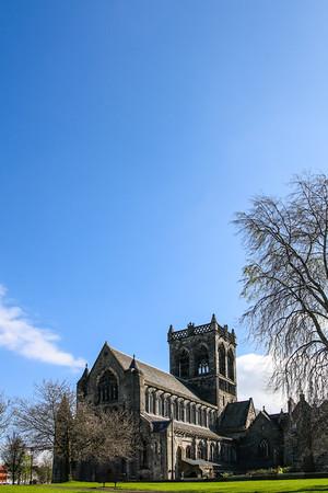 Paisley Abbey Blue Sky