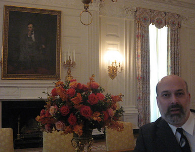 Me--and President Lincoln!