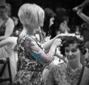 Tattooed Hairdoist
