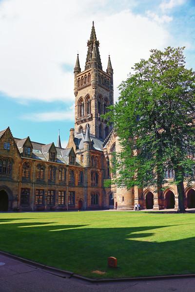 Inside Glasgow University