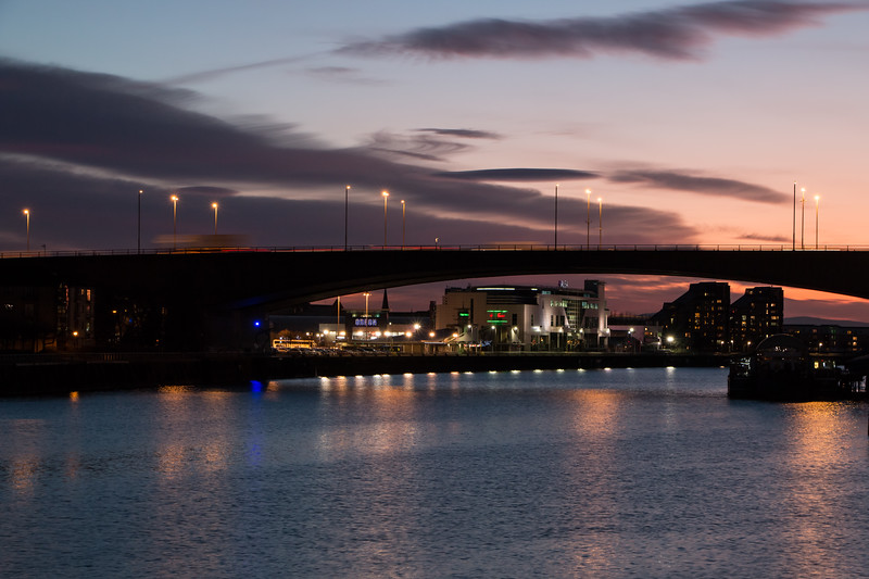 Sun goes down over the Quay.jpg