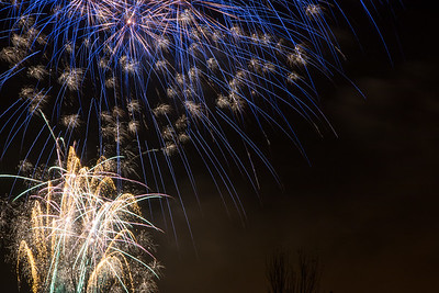 Paisley Fireworks display - Photographs - 2015
