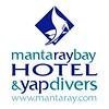 Manta Ray Bay Hotel & Yap Divers logo centered
