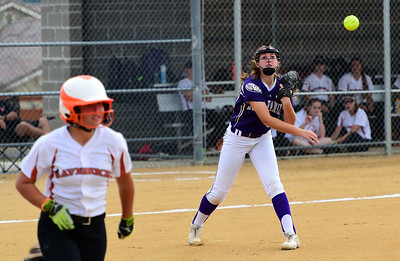 Mead Plays at Holy Family Softball