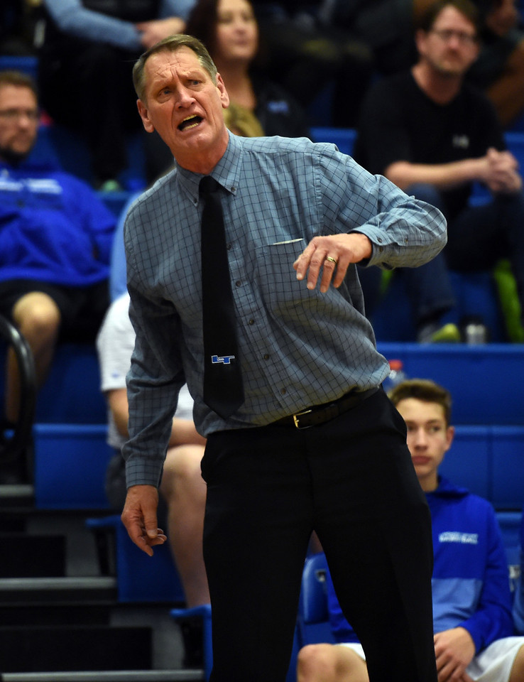 Mead at Longmont Boys Basketball