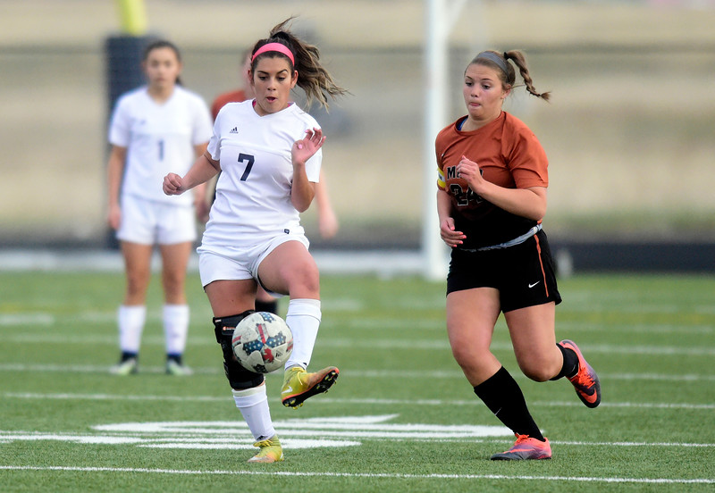 Mead vs Frederick Girls Soccer