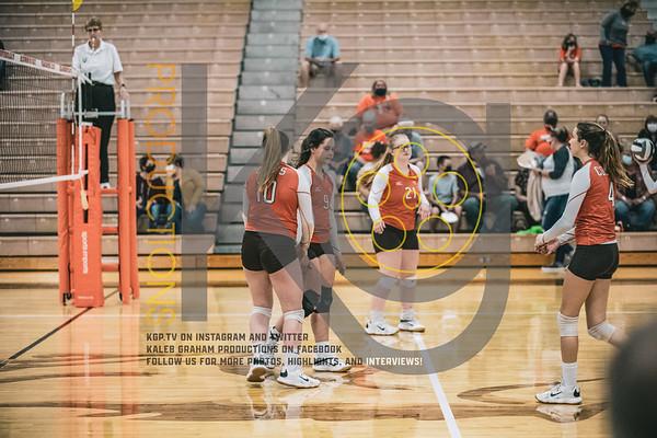 MHS Volleyball Senior Night