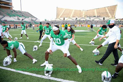 2020 NCCA Football: Southern Miss vs North Texas Mean Green