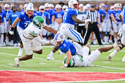 2021 NCCA Football: North Texas Mean Green vs SMU Mustangs