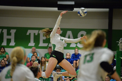 NCAA Volleyball  2019 August  30 - Pepper Line at UNT