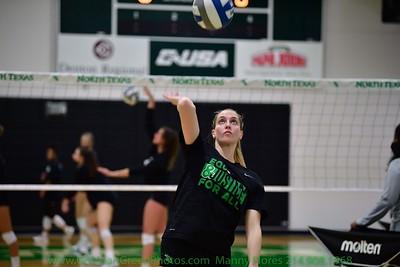 North Texas Mean Green Volleyball vs Oklahoma Sooners