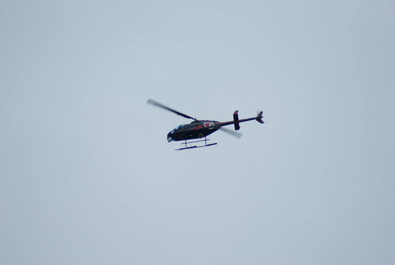 Another helicopter was hovering over my house this afternoon. I wonder what I did this time?
