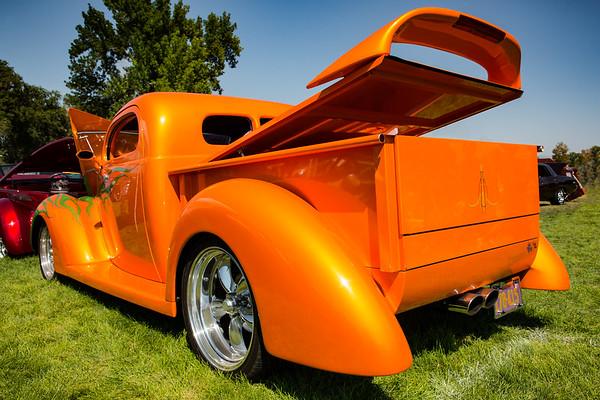 1937 Ford Pickup, Magna City Car Show, Owner Mark Caputo, Utah