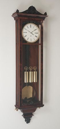 Finished clock, shot with flash