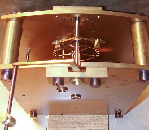 Top of mechanism