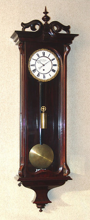 Elegant and simple example of an early Serpentine clock