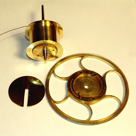Winding Drum Partially Assembled