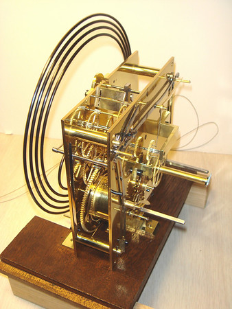 Completed mechanism viewed from strike side of mechanism