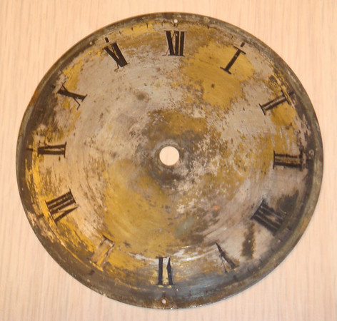 Dial before restoration