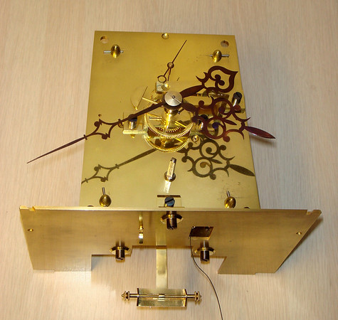 Front of Mechanism including the exquisite hands!