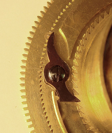 Click spring detail.  Every detail on a clock of this calibre deserves notice.
