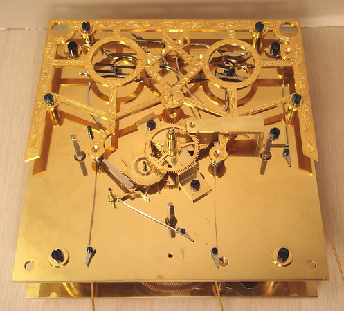 Front of mechanism