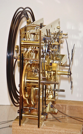 I just had to shoot a number of views of this magnificant mechanism.