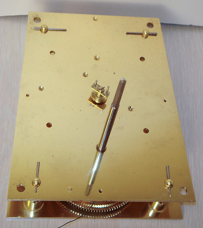 VR-594 Front of mechanism showing take-off for shaft to motion works