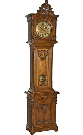A classic example of a Second Baroque Floor Standing Viennese regulator.  This one is special for a number of reasons:  The dial complications, the fantastic mechanism, the exceptional case condition - an exceptional example of the Viennese Clock-makers craftsmanship and style