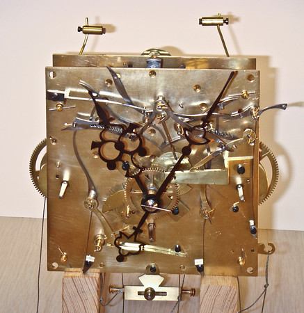 Front of completed mechanism