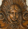 The detail and patina of the carved ladies face is truly fantastic!