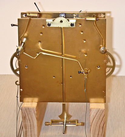 Back of completed mechanism