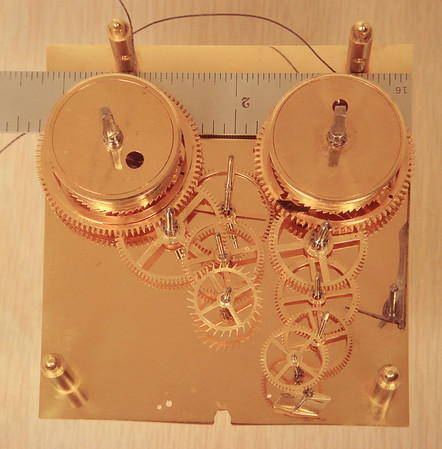 A classic example of the Viennese art of mechanisms!  And, so very small for a striking month duration clock.