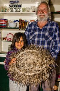 David Carline and his Kooma family