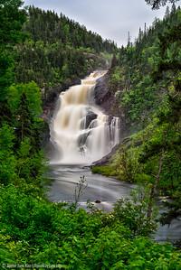 Val Jalbert waterfall