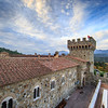 Castello di Amorosa, View from South Tower (Jim Sullivan)