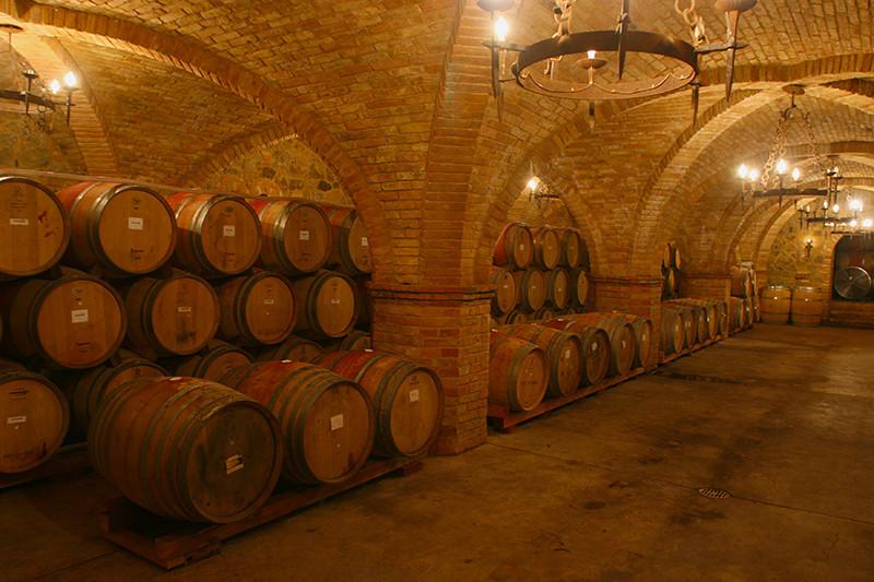 Castello di Amorosa, 4th Cellar (Jim Sullivan)