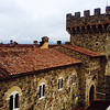 Castello di Amorosa, View from the South Tower (Alison Cochrane Hernandez)