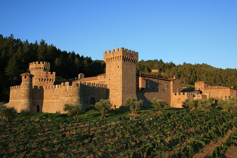 Castello di Amorosa, Exterior (Jim Sullivan)