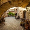 Castello di Amorosa, Lower Courtyard (Jim Sullivan)